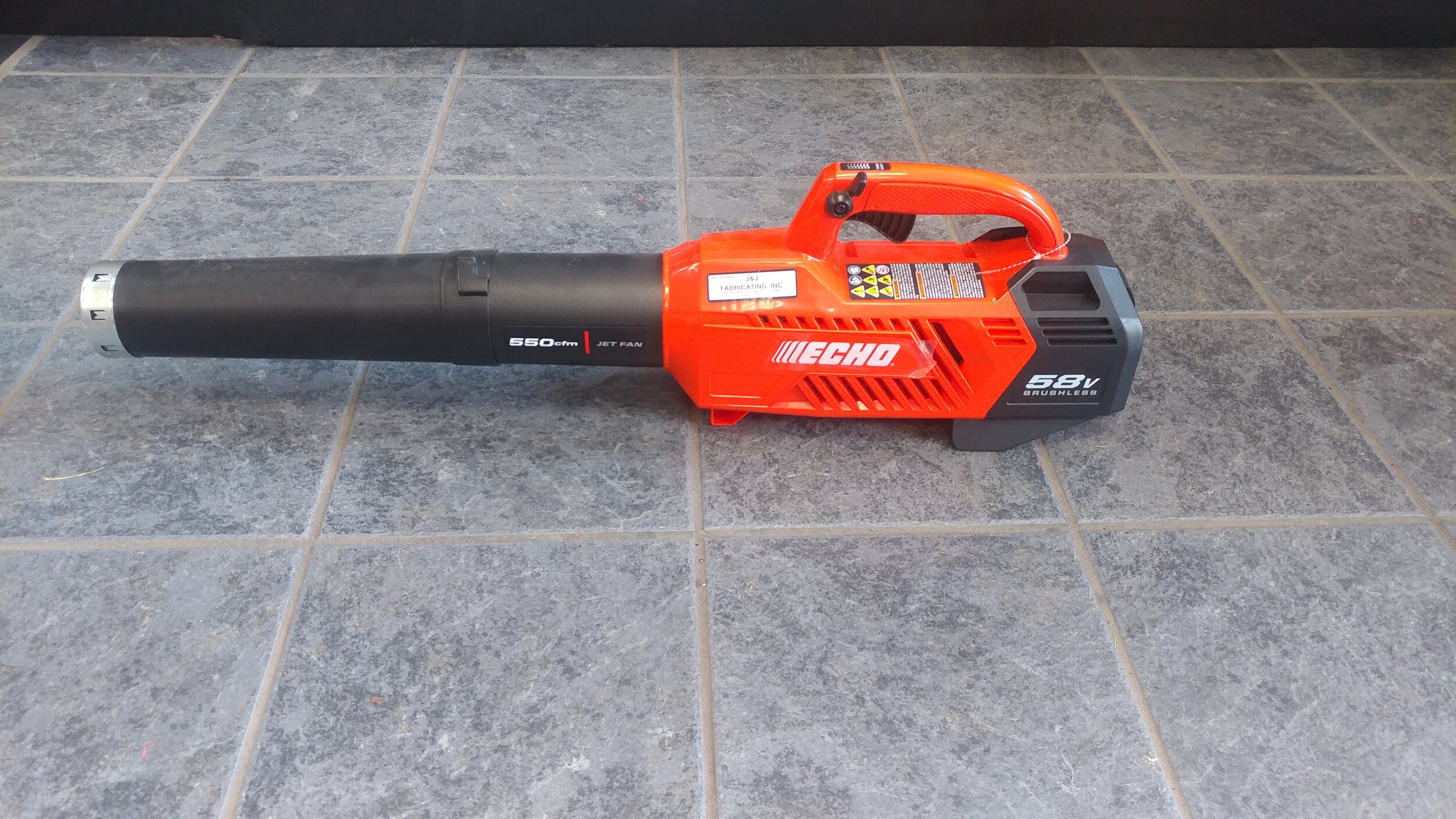 58 volt battery - CPLB-58V2AH blower with charger, $ 229.99.  Great for around the home.