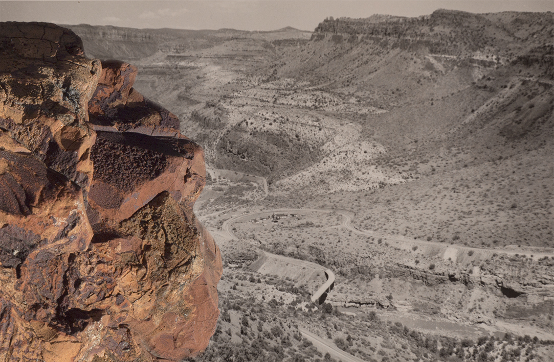 """John Hutchison's Rock.  From the series """"MATER""""."""