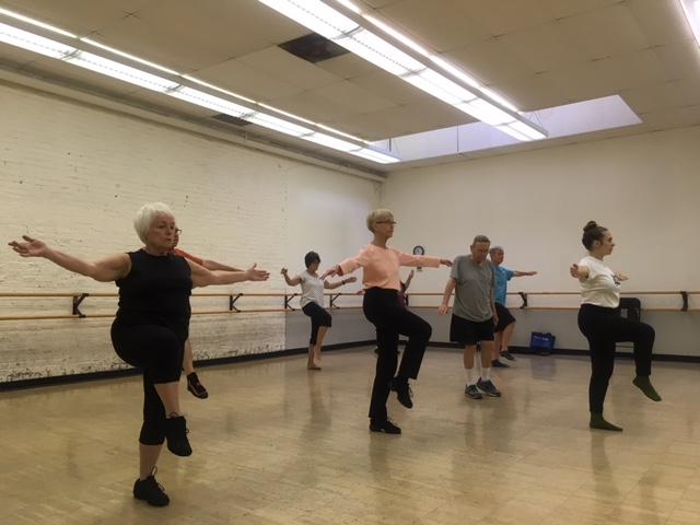 In  Motion Seniors Dancing