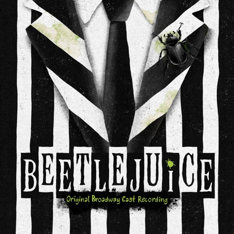 Eric is featured on the Original Broadway Cast Recording of BEETLEJUICE THE MUSICAL -