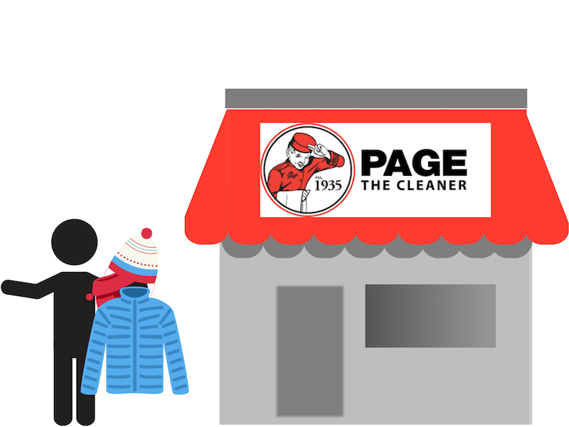 From October to January, United Way puts the call out to the community to donate their gently used, outgrown or new winter outerwear and drop it off at any Page The Cleaner location. -