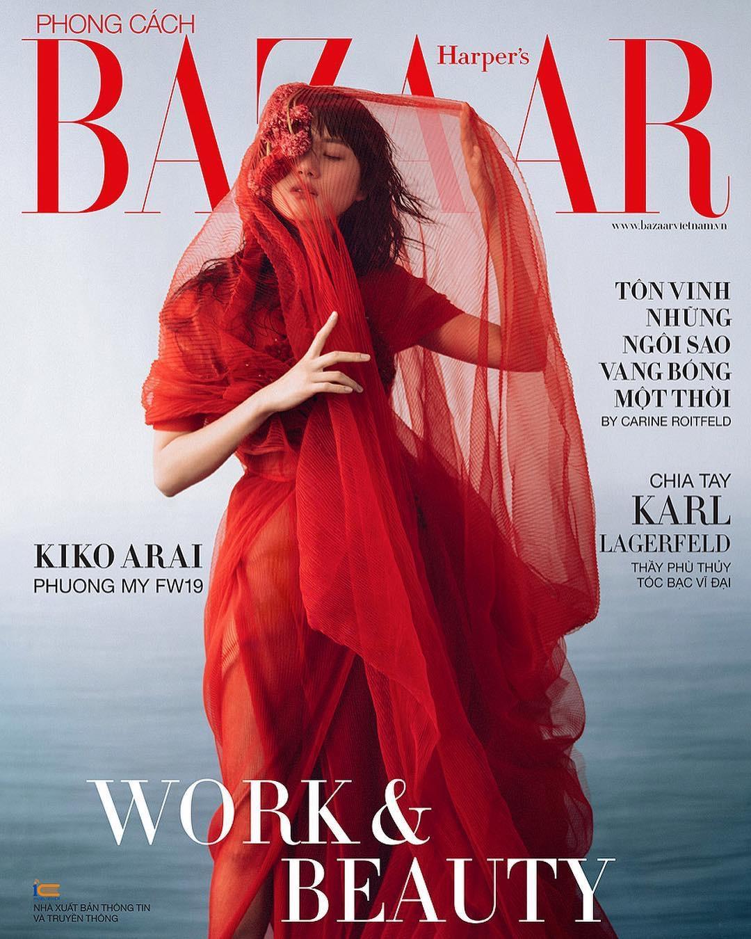 Jingna Zhang for Harper's Bazaar Vietnam