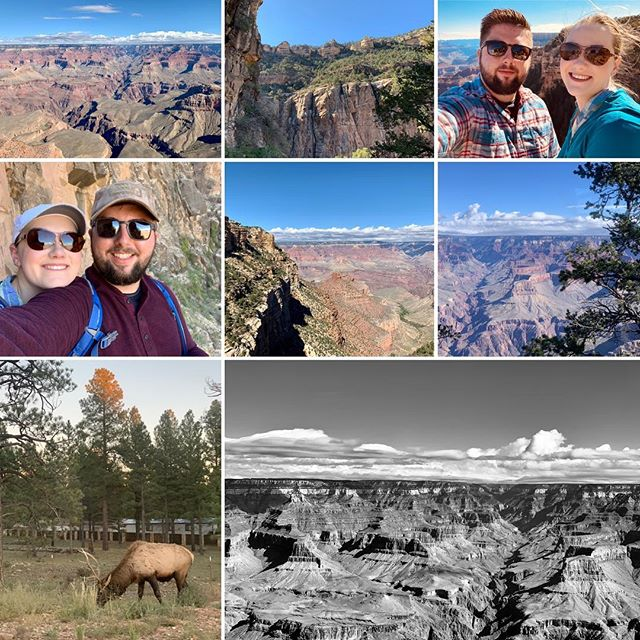 Had a great weekend, camping and hiking at the Grand Canyon with @pgrannphoto