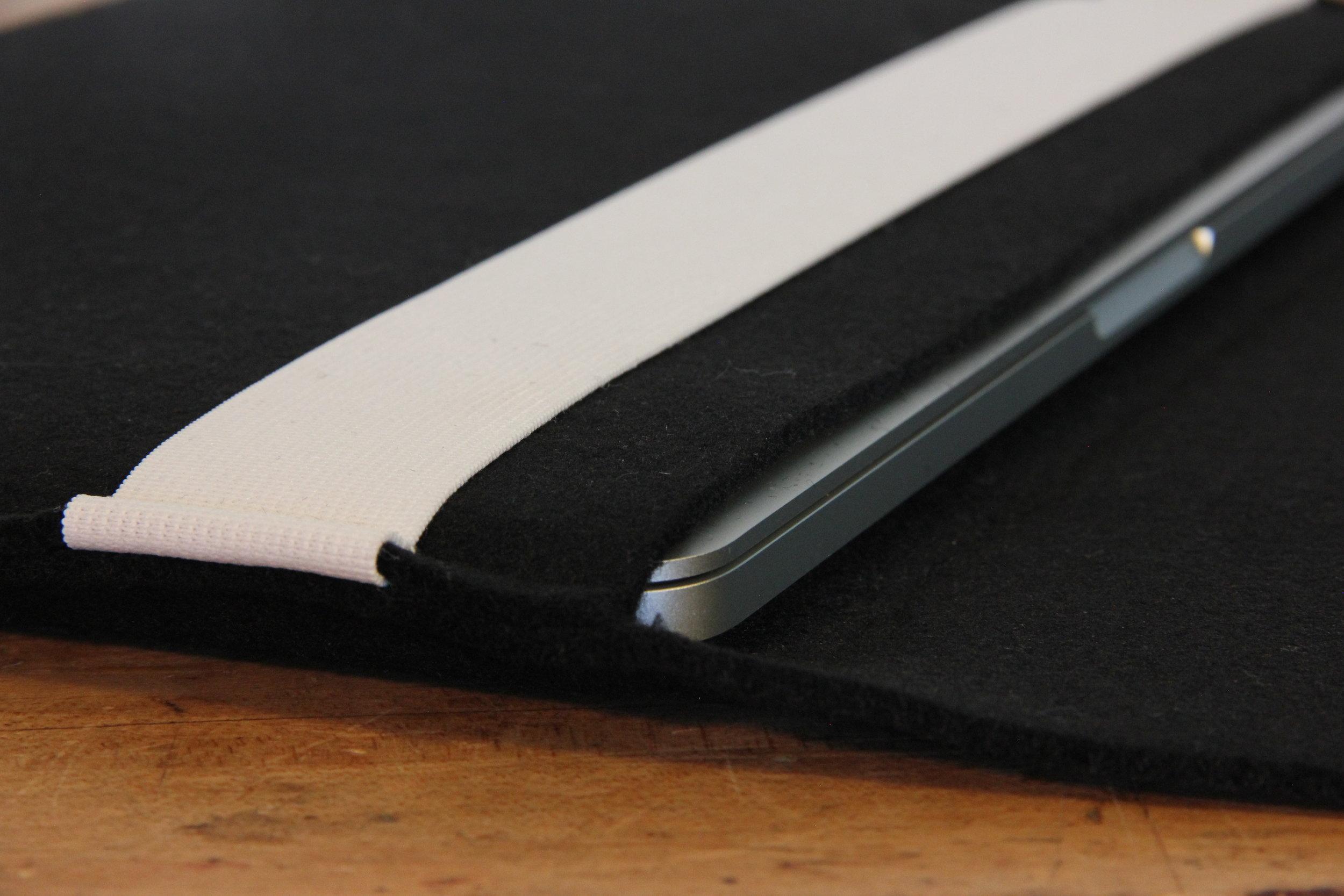 Felt Laptop Sleeve detail
