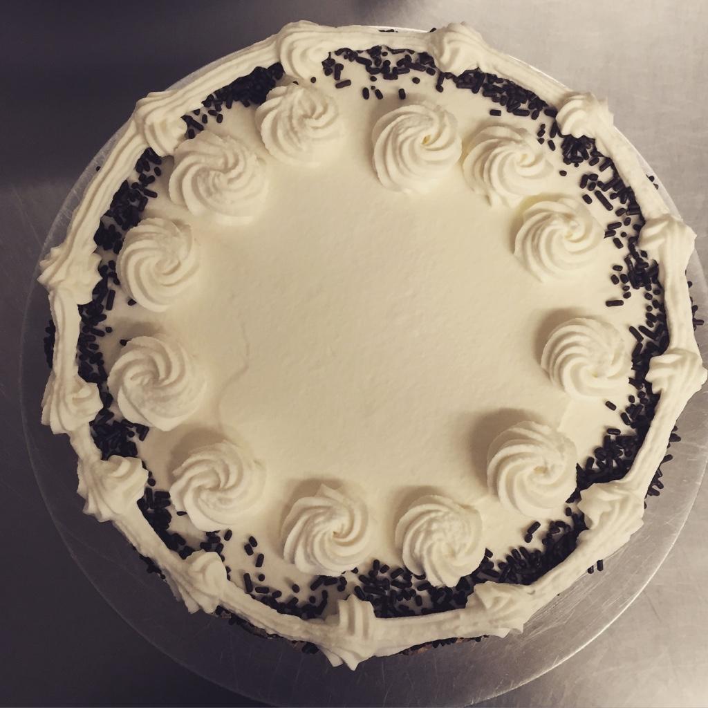 Glass Bottle Creamery Cake