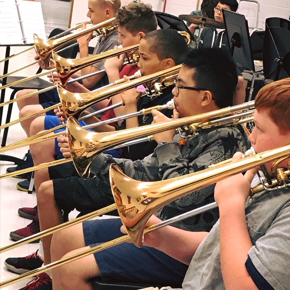 Middle School Jazz Group