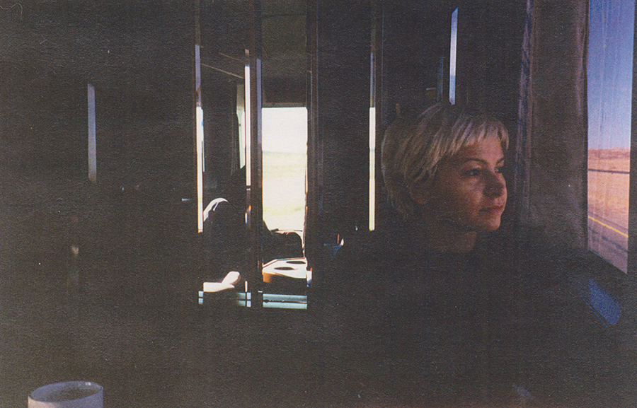 Pic of me on the tour bus.