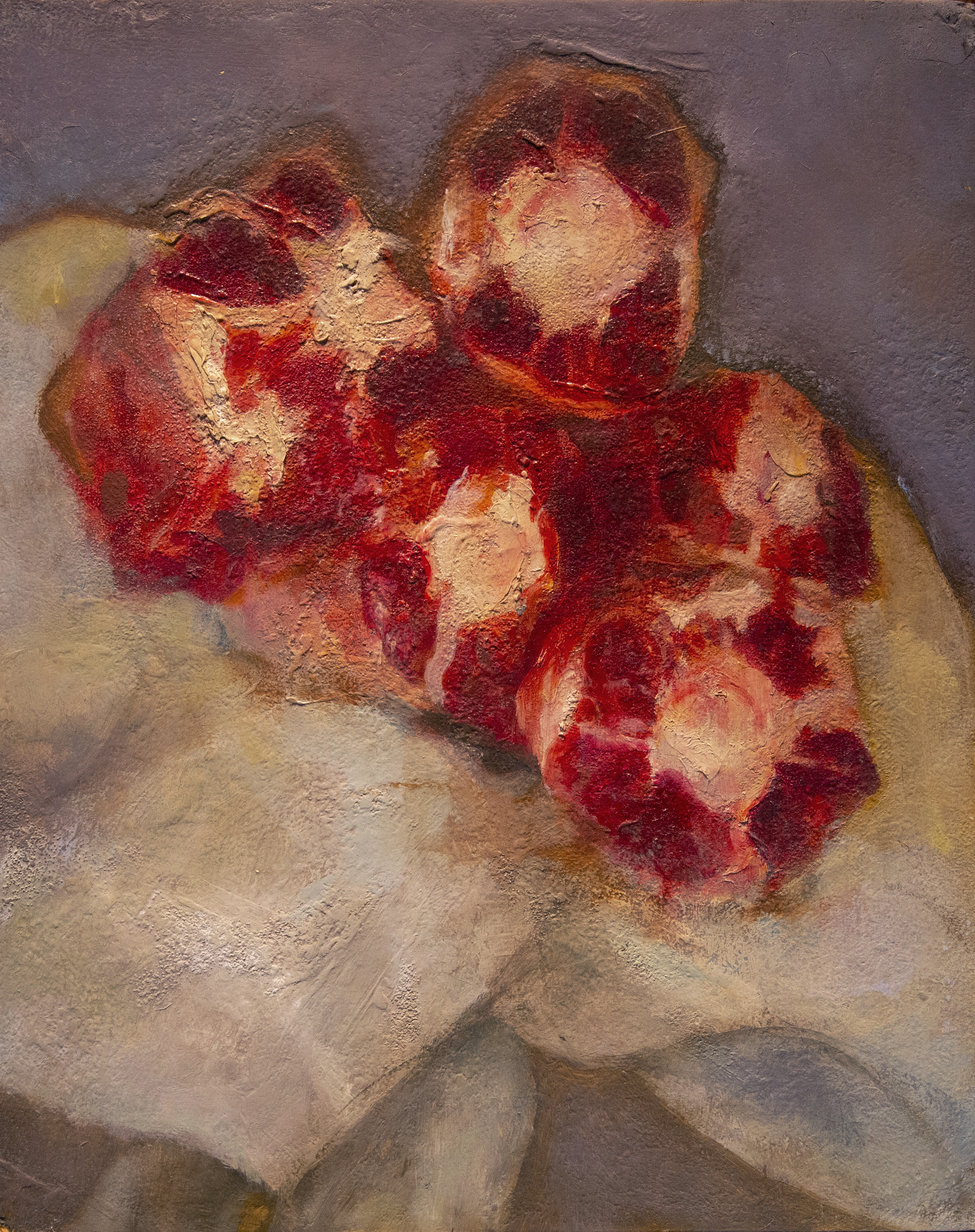 Oxtails 8 x 10 in. Oil on board.