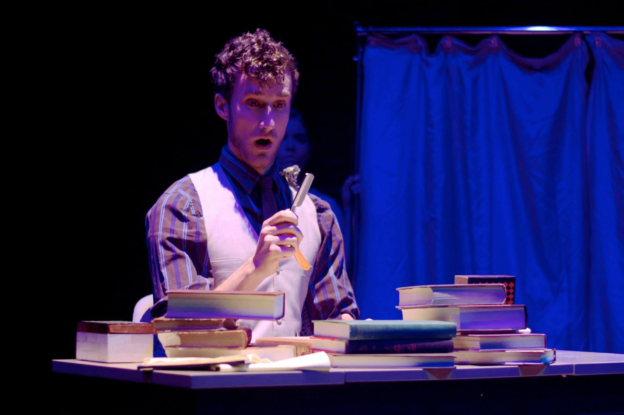 As Seneca in L'incoronazione di Poppea, with dell'Arte Opera Ensemble
