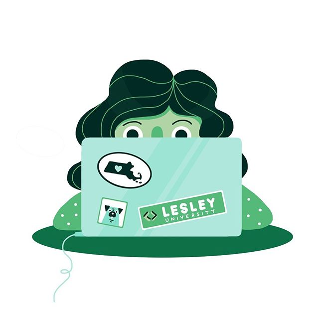 A recent project of mine! I redesigned some icons for @lesleyuniversity . #illustration #graphicdesign #artistsoninstagram #design #icon #illustratorsoninstagram #illustrator #photoshop #digitalart #green #art #create #freelance #childrensbooks #palette #designer #boston #cambridge #massachusetts #lesleyuniversity