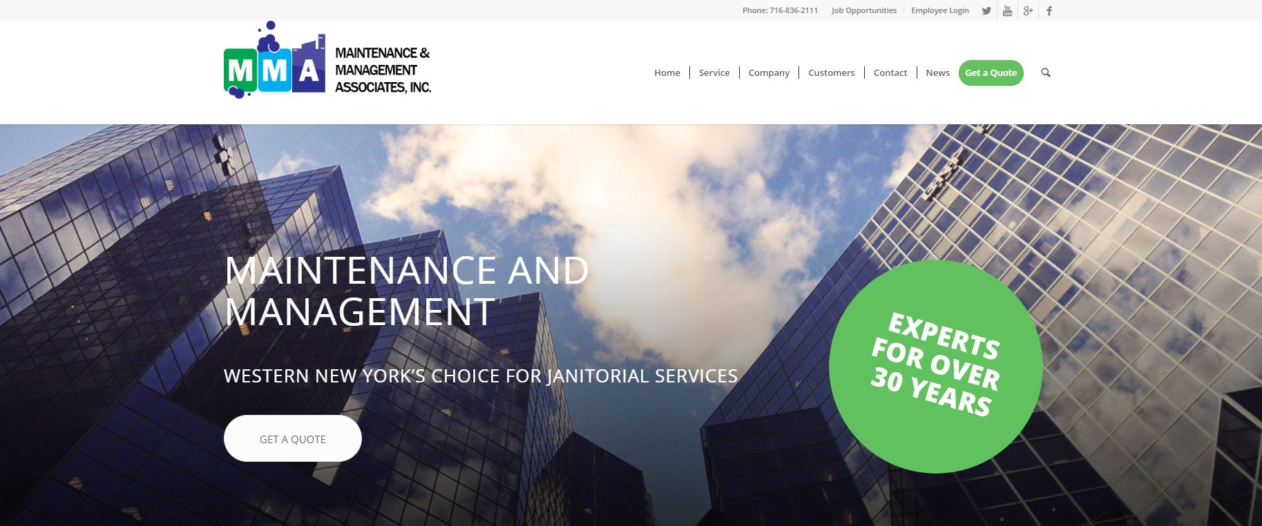 Maintenance and management associates homepage screenshot.jpg