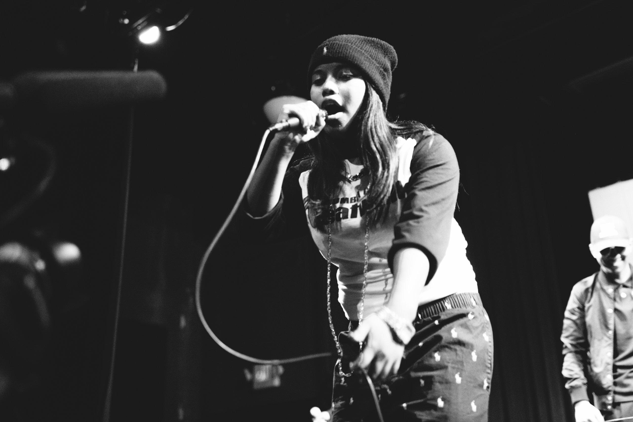 Jewelz Cypher Performing Live.Photo Credit: Amber Zbitnoff