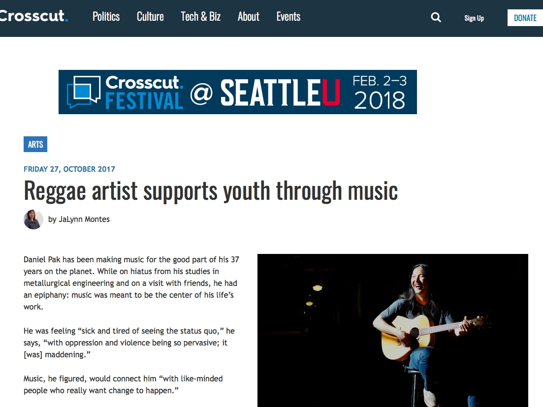 Reggae artist supports youth through music - By Jalynn montesOctober 27, 2017