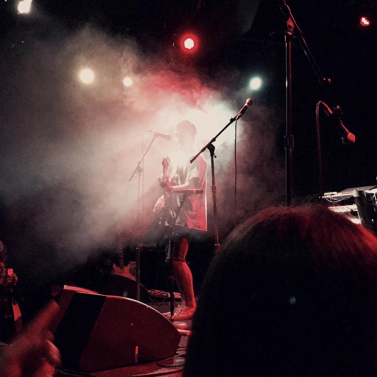 Waiks performing live at The Crocodile