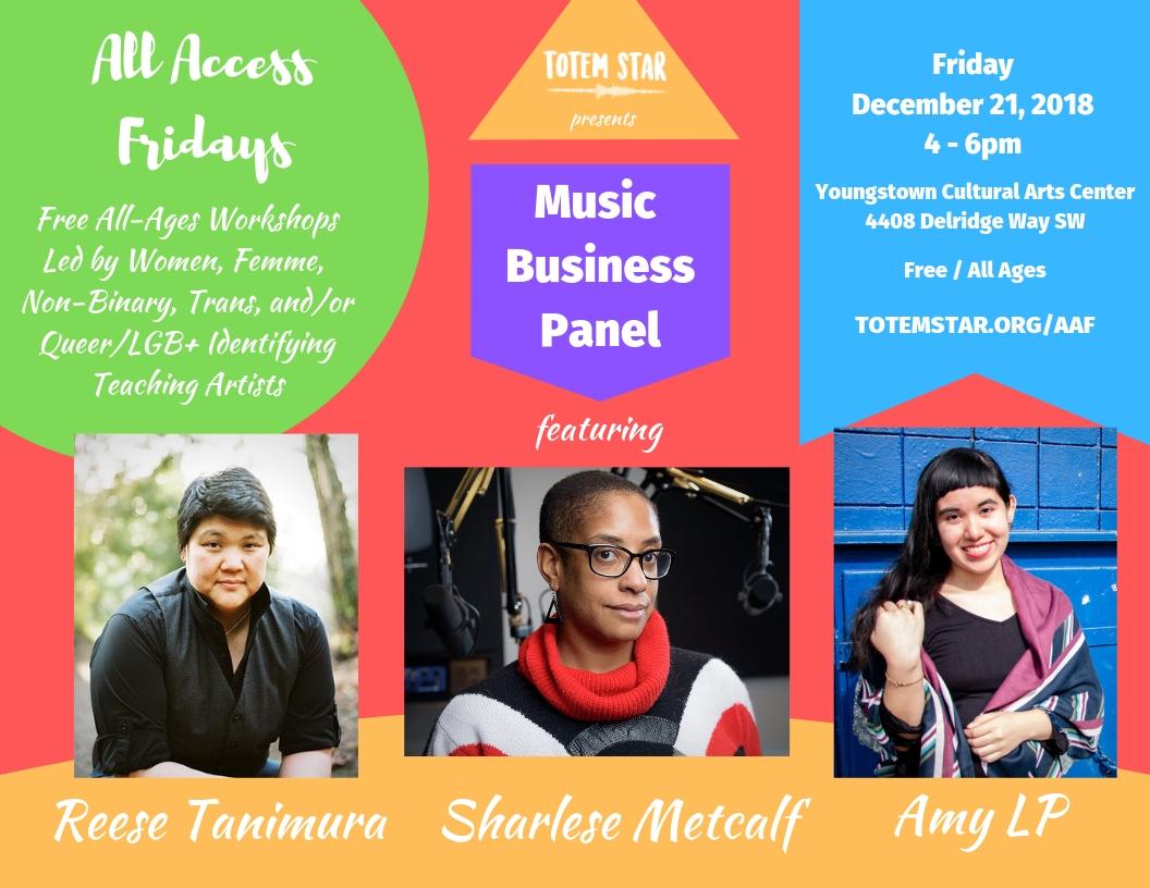 AAF - Music Biz Panel