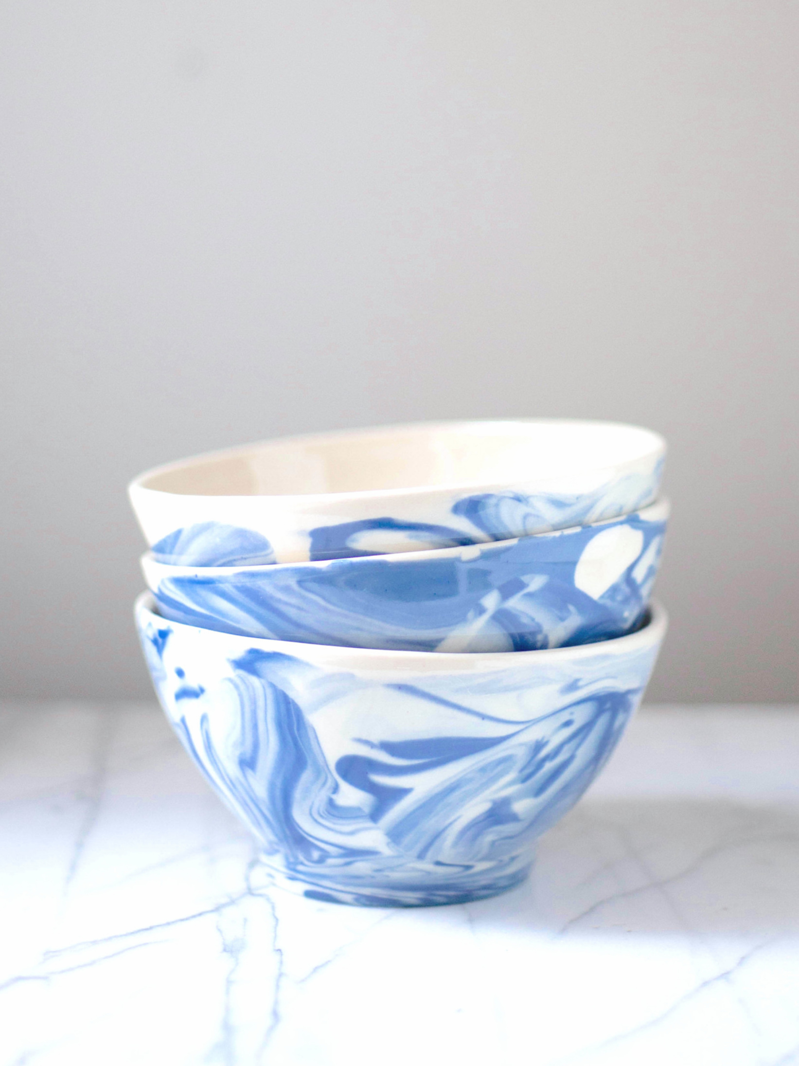 Cafe Au Lait Bowl Handmade in Maine - $38.00 each