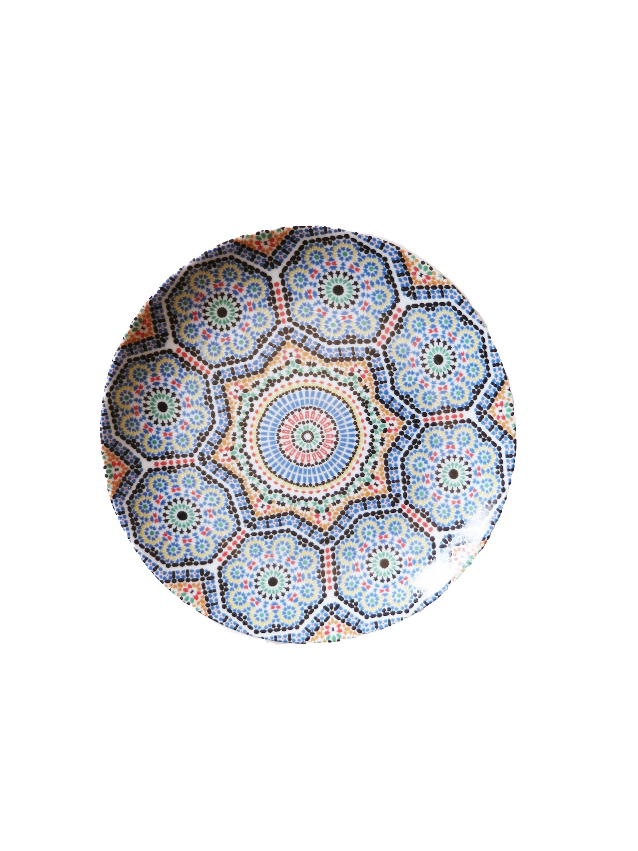Small Moroccan Porcelain Plate $16.00