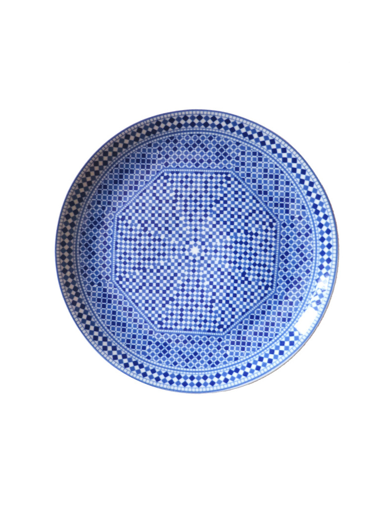 Moroccan Porcelain Plate $24.00