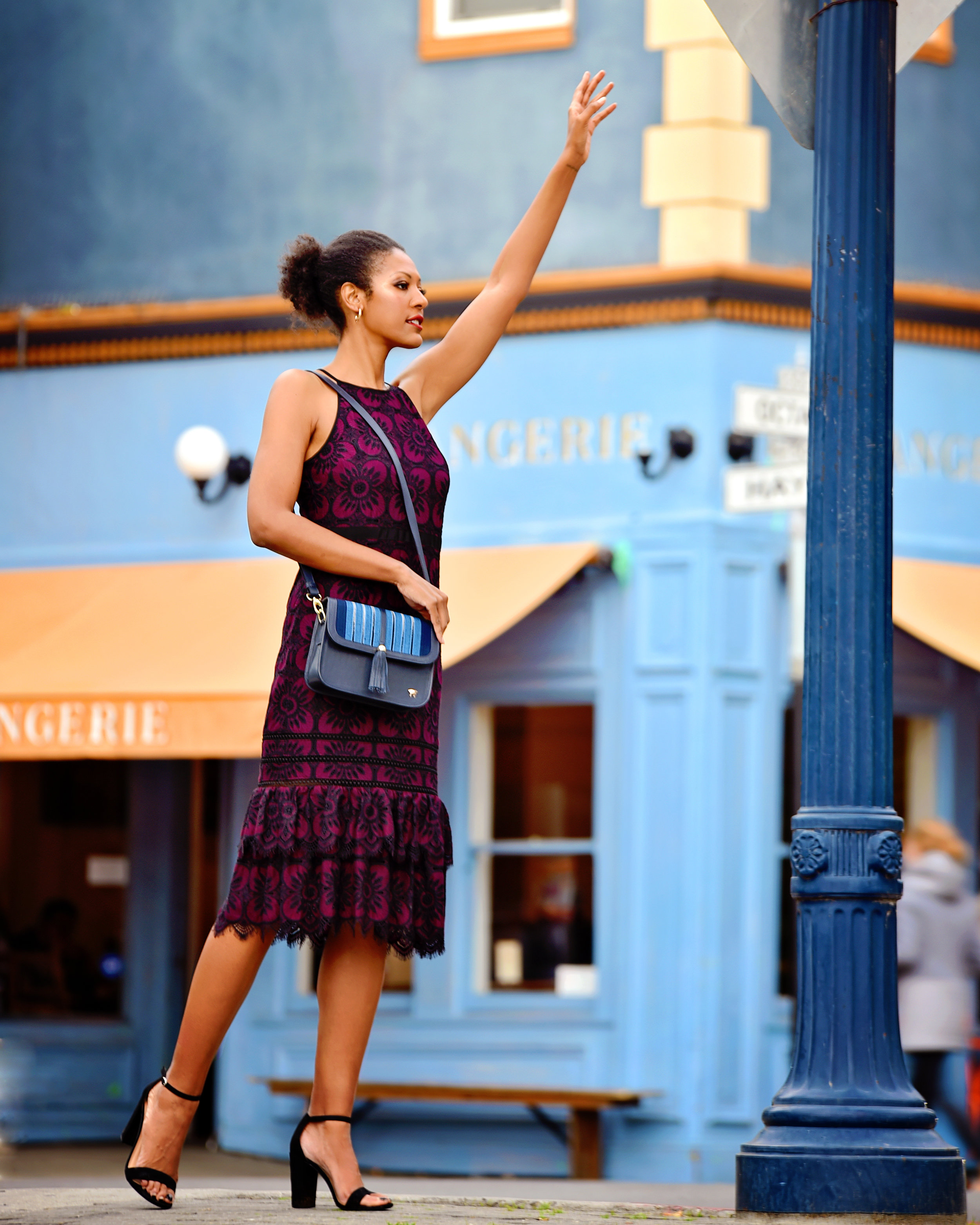 San Francisco fashion campaign shot by Bay Area fashion photographer, Dana Hargitay