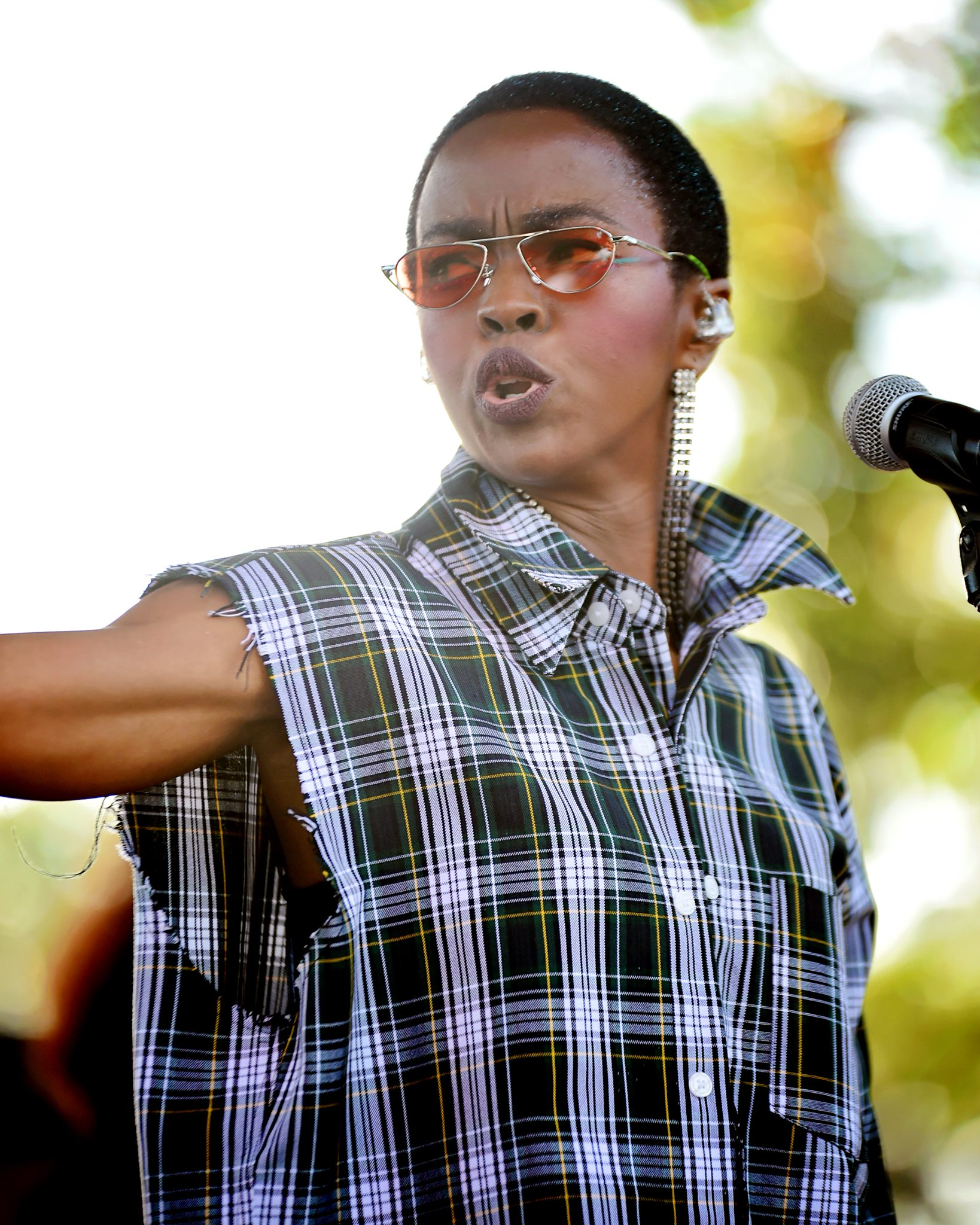 Ms. Lauryn Hill shot by San Francisco celebrity music photographer, dana Hargitay
