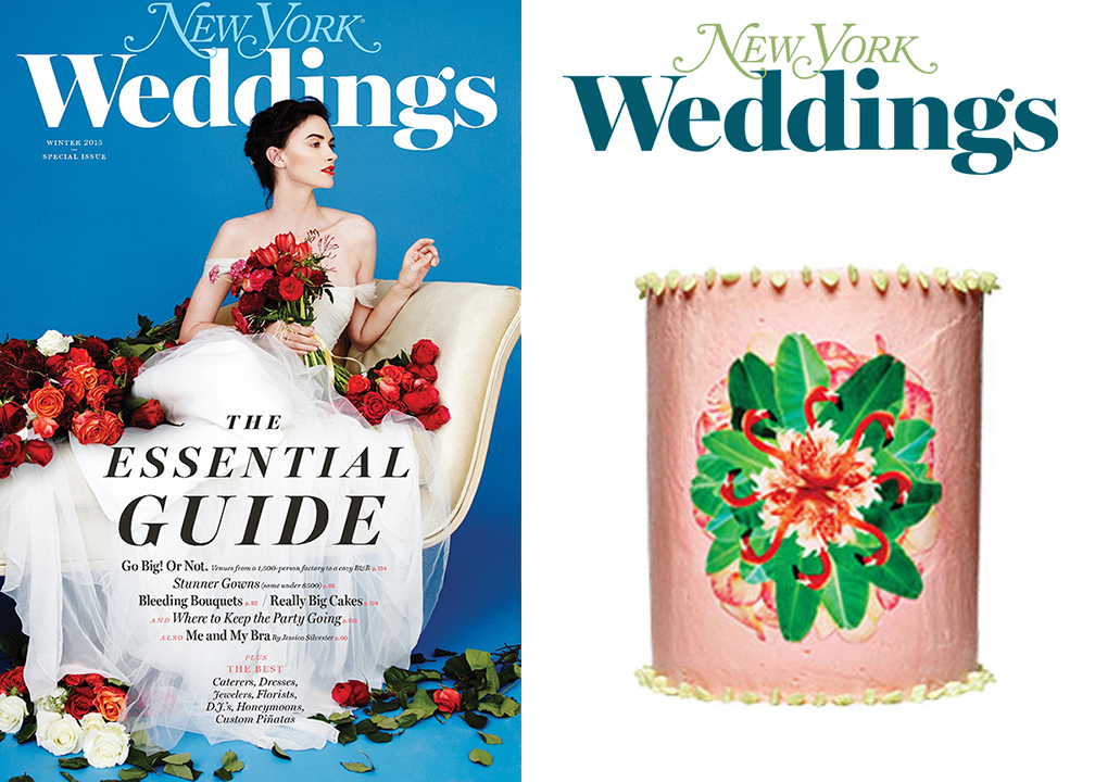 New York Magazine Weddings :: Winter 2015