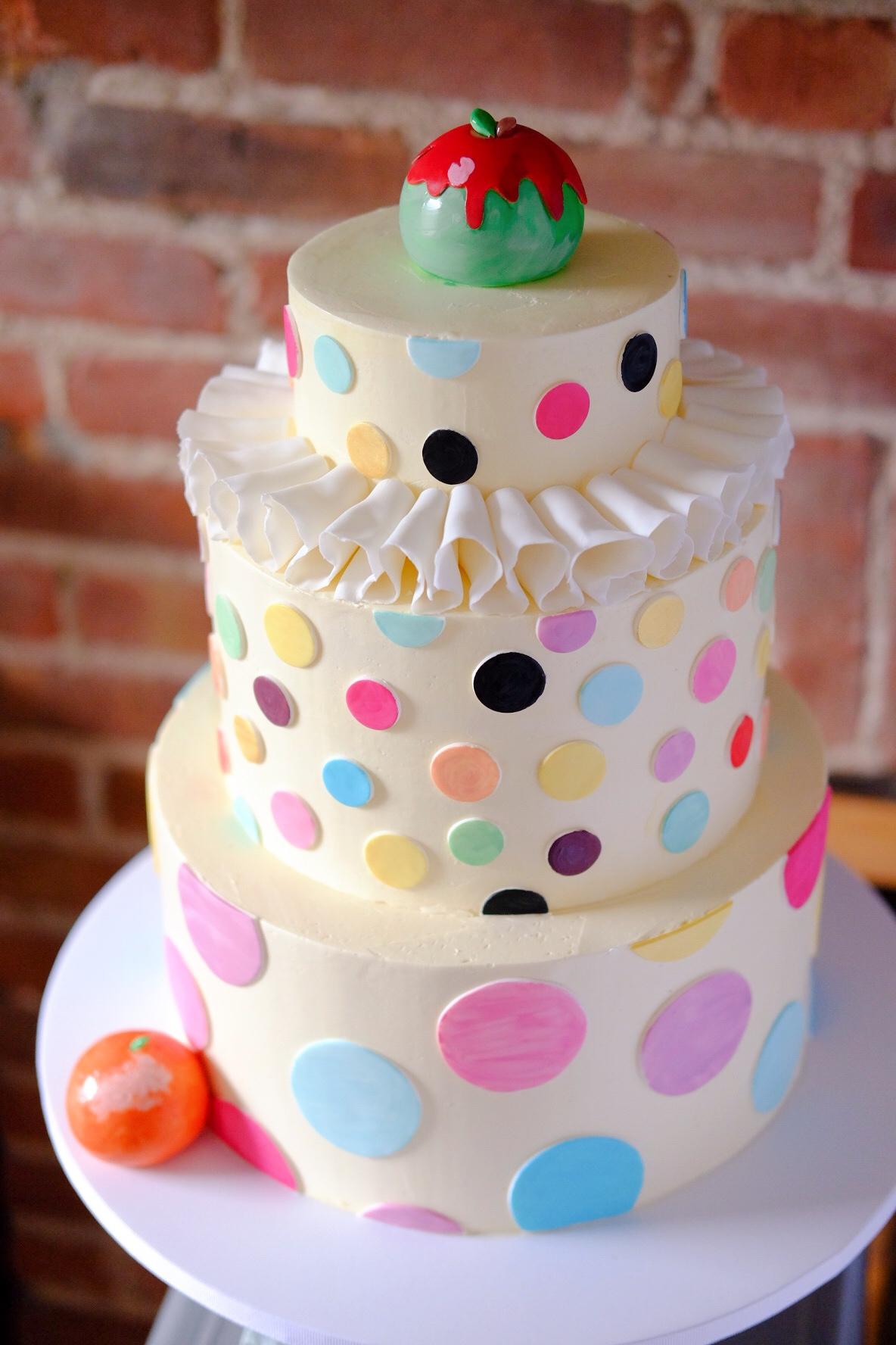George Condo Cake