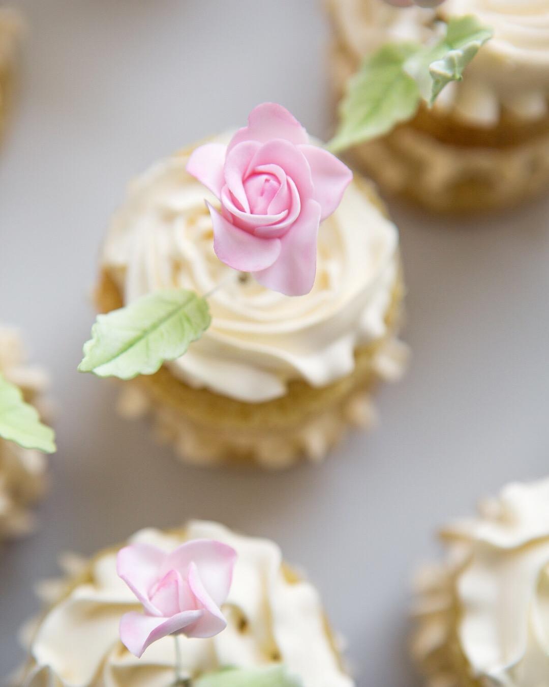 Sugar Rose Mini Cakes