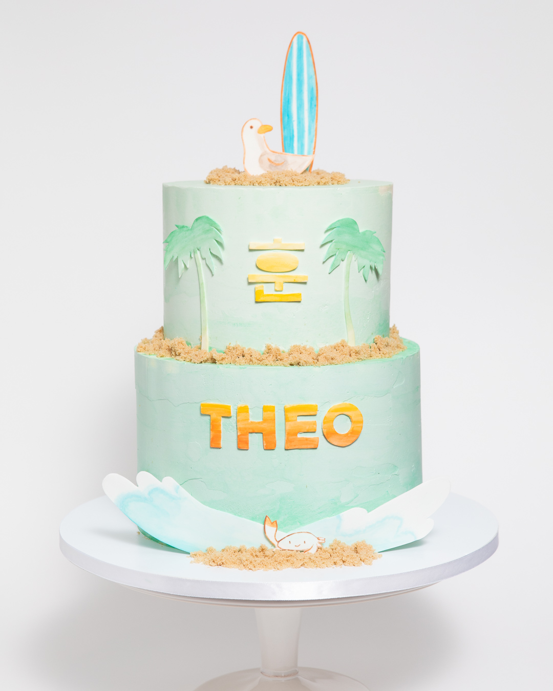 Beach Themed Dol Cake