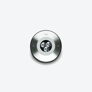 MINIZIP Rond 3W ou 6W Aluminum  Spec ►  IES/CAD ► Stainless   Spec ►  IES/CAD ►