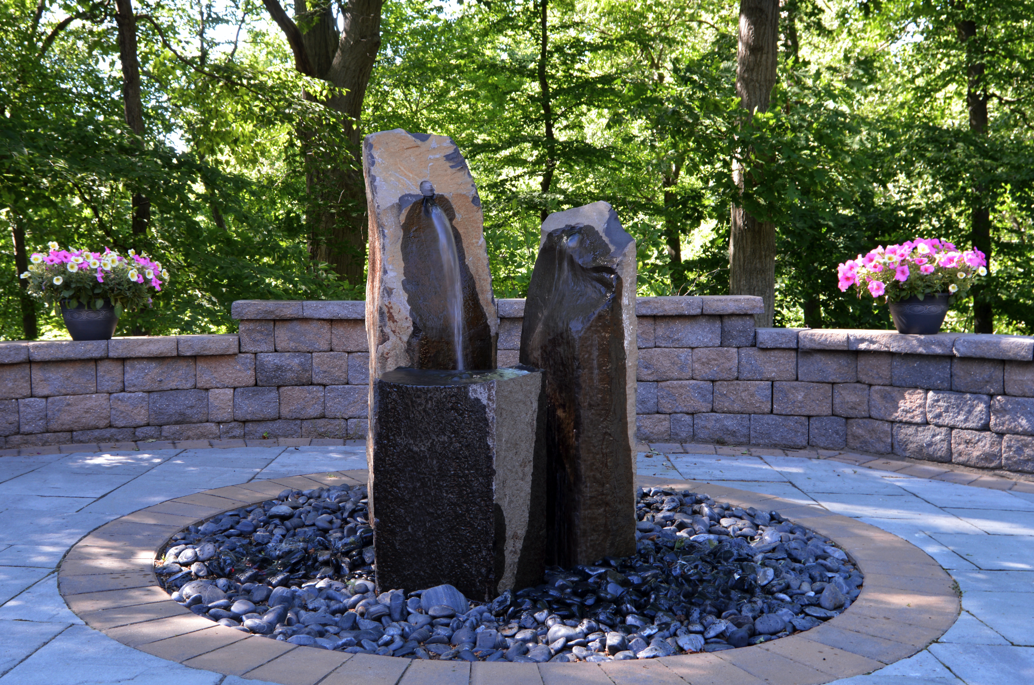 Westchester County, NY custom build water feature