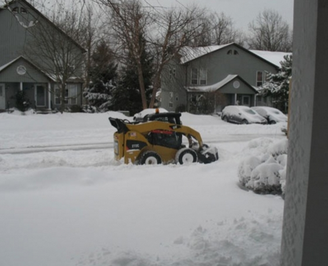 Snow management and snow plowing in Westchester County NY