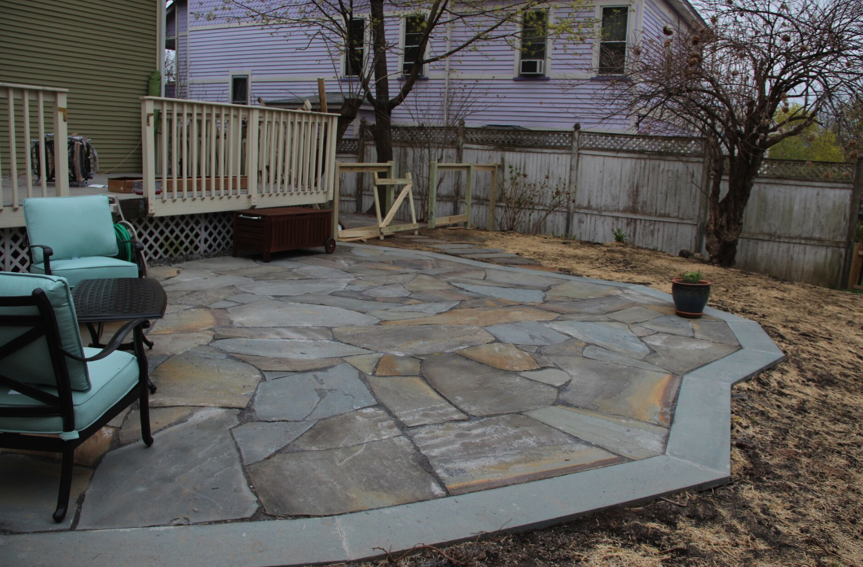 Westchester County, NY natural stone patio