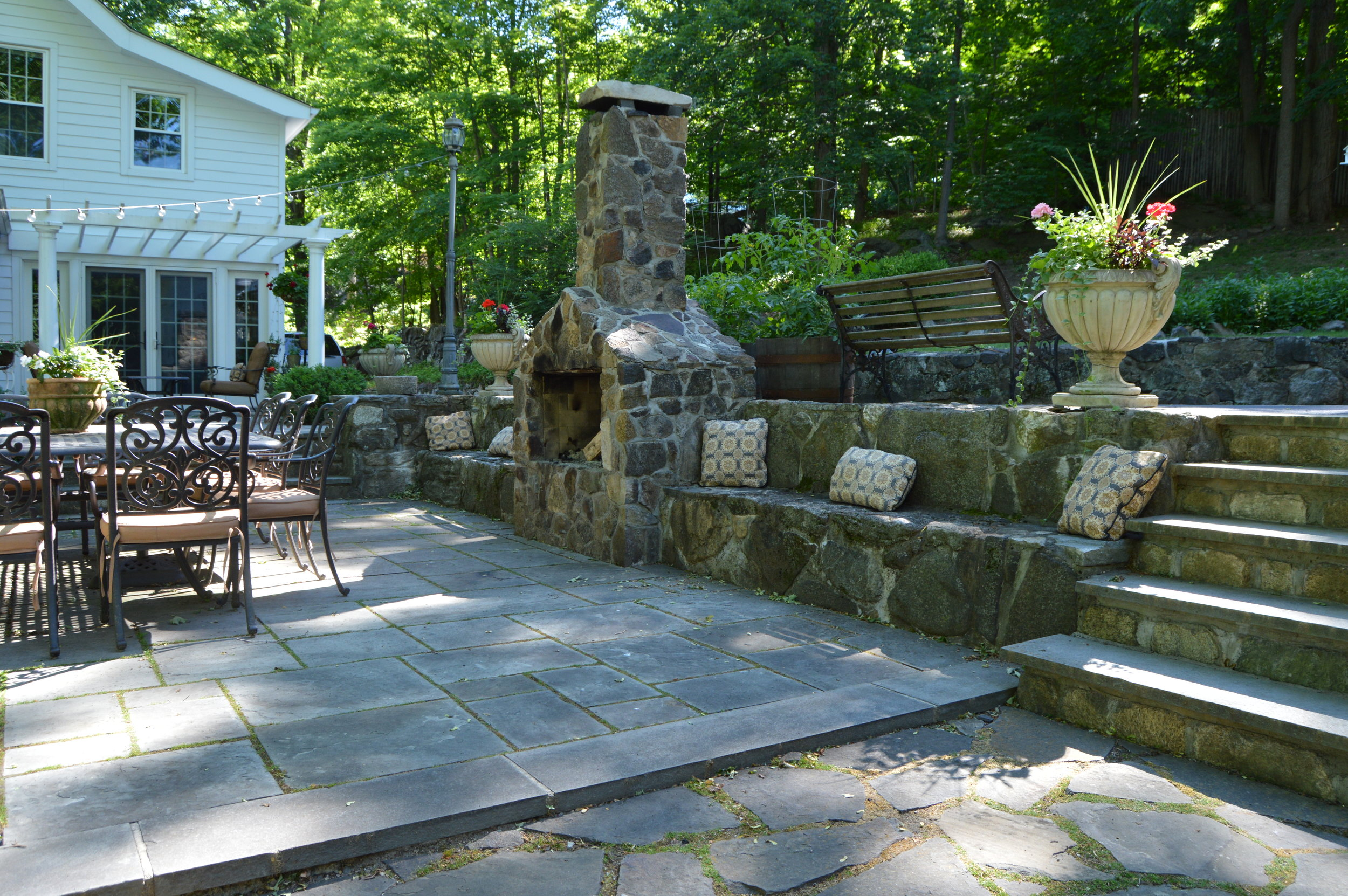 Beat the Winter Blues with an Outdoor Fireplace Peekskill NY