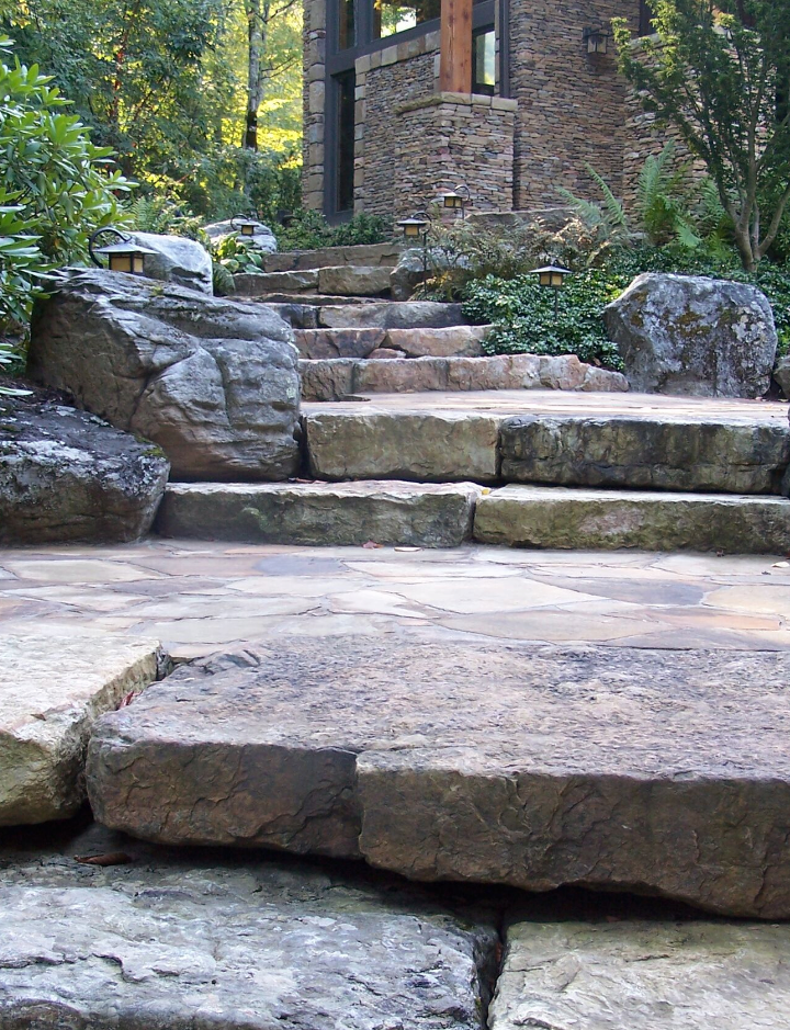 Westchester County, NY natural stone steps