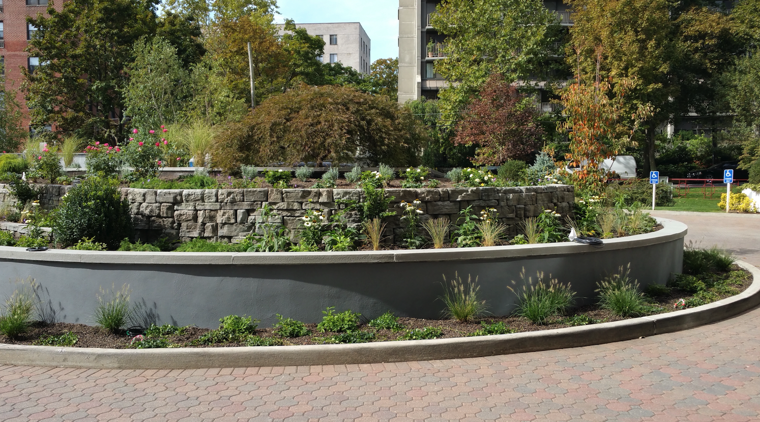 Landscape design in Croton, Westchester County NY
