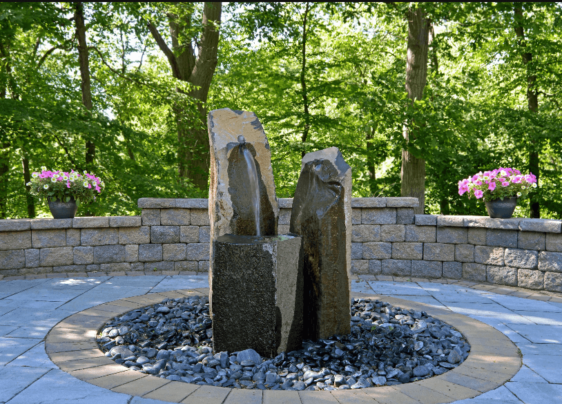 Plantings, Natural Stone, Pavers, and More  Landscape Installation     Contact Us