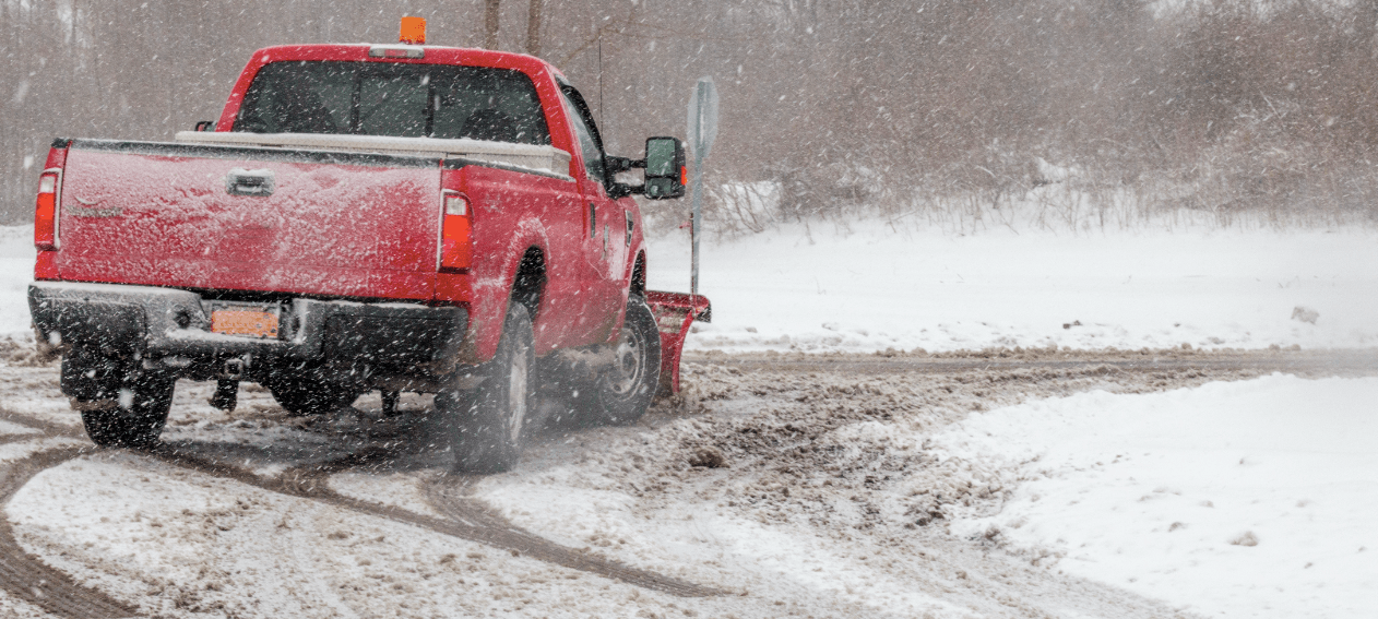 SNOW PLOWING + ICE MANAGEMENT    CONTACT US