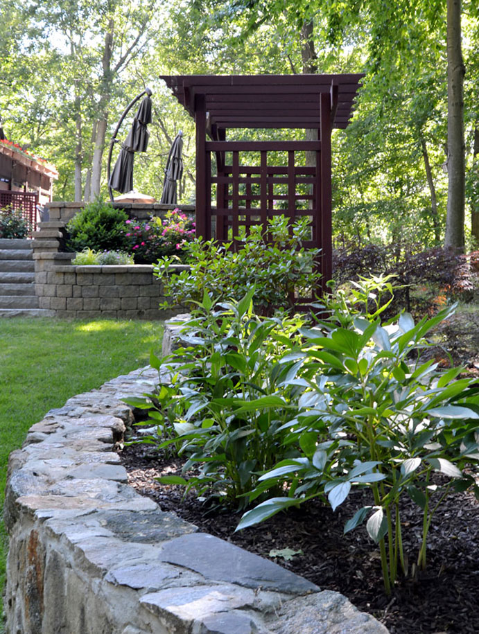 Beautiful plantings - landscaping in Cortlandt Manor NY
