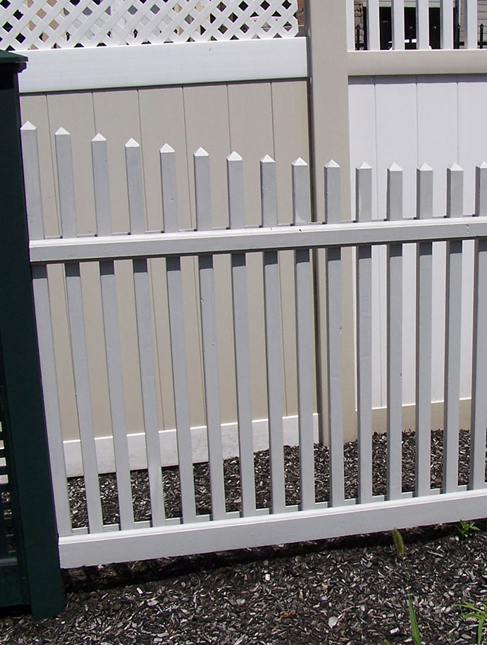 Fence installation - landscape construction in Somers, New York
