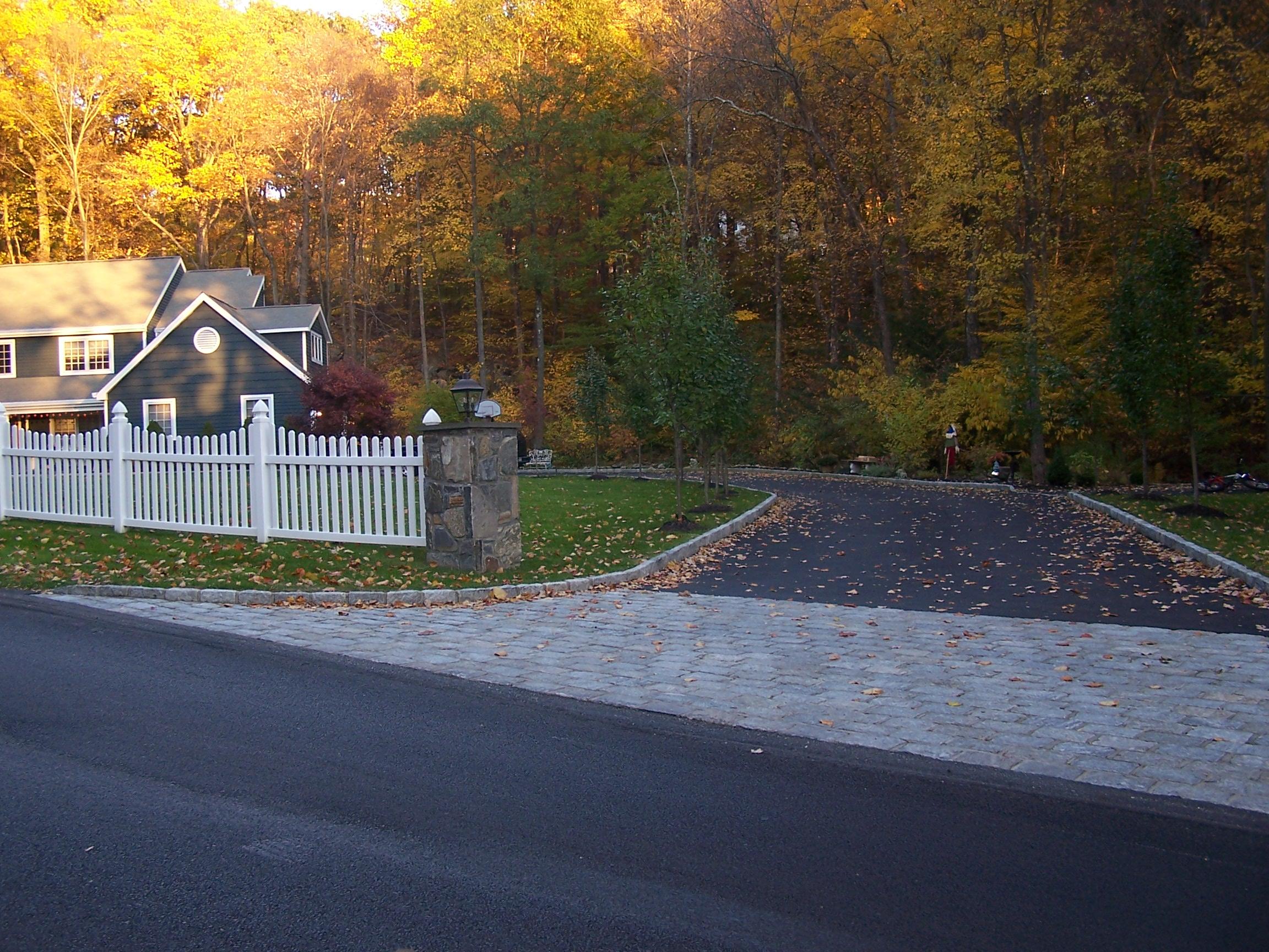 Driveway in Yorktown, Peekskill, New York