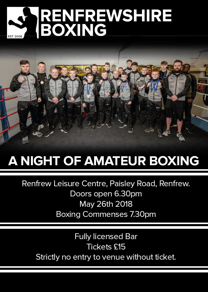Renfrewshire Boxing