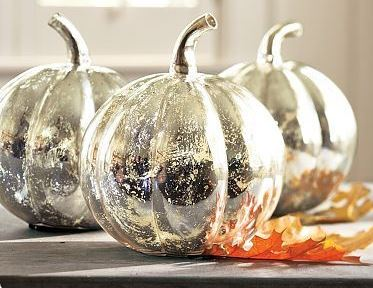 Looking Glass Painted Pumpkin