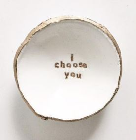 All the Wire Jewelry Dish
