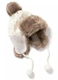 Old Navy Faux Fur Trapper Hat
