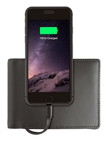 Nomad iPhone Charging Wallet
