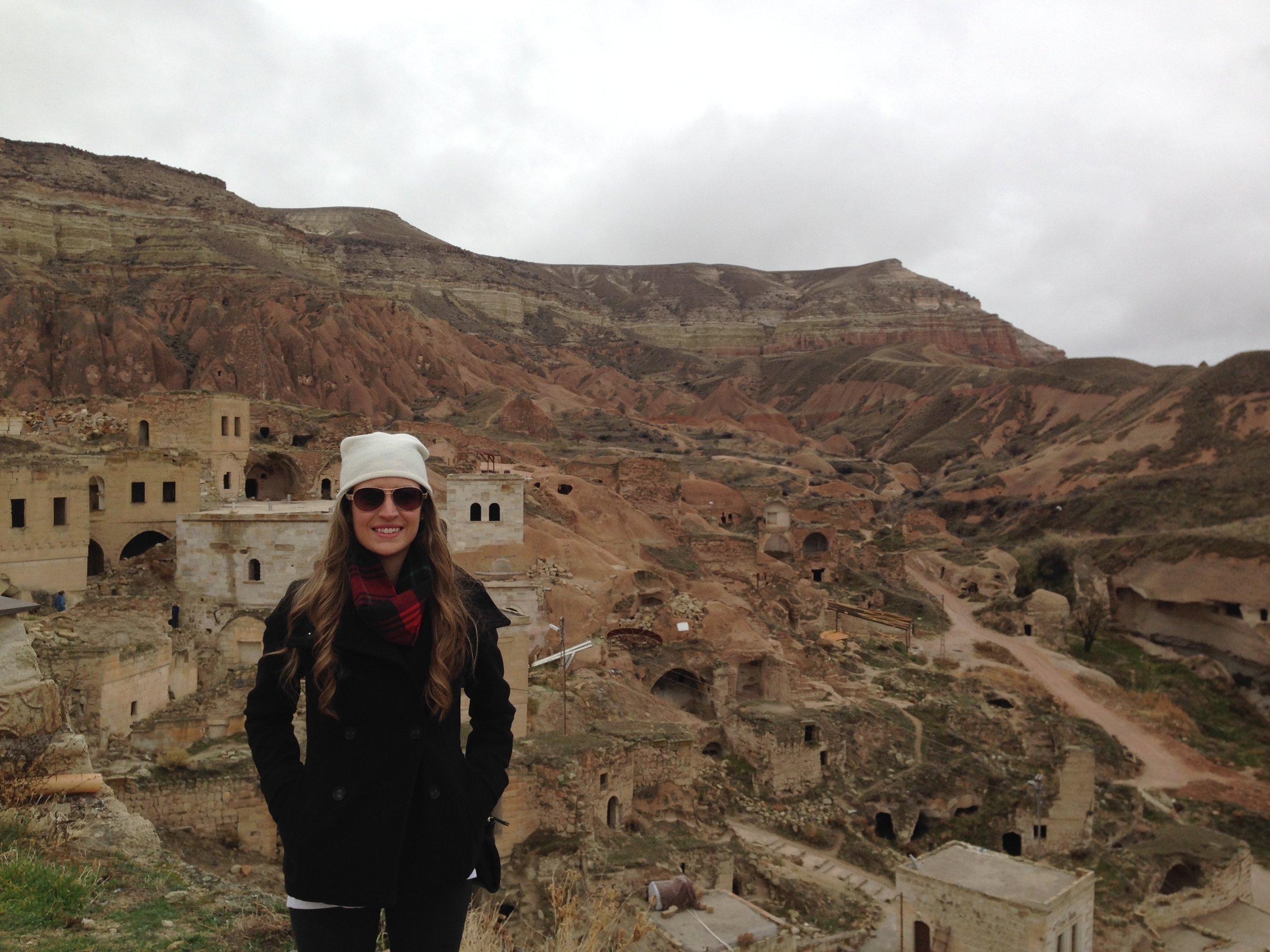 Cappadocia, Turkey - cave cities