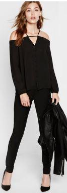 NYE black express blouse.JPG