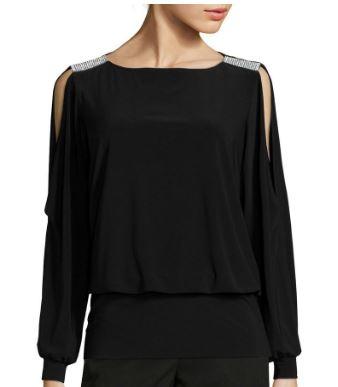 NYE black jcp blouse 2.JPG