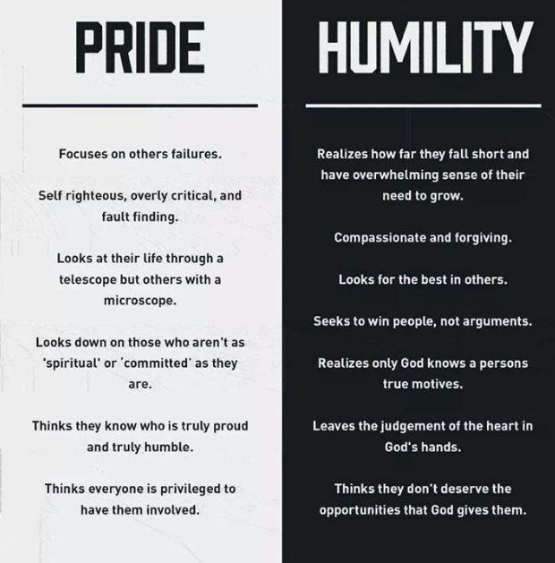 Arrogant husband prideful How to