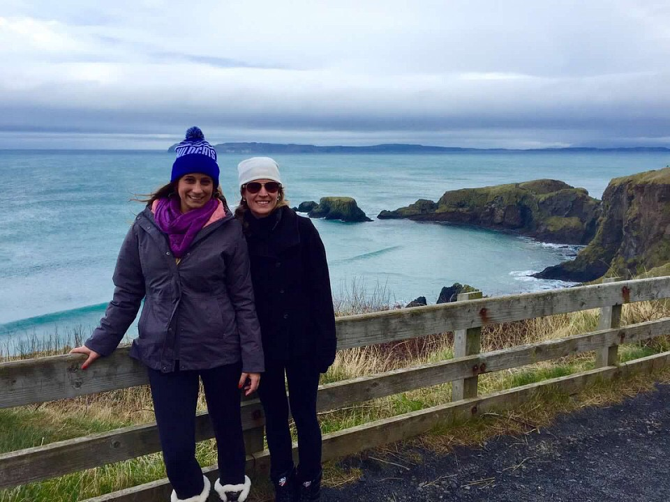 Carrick-a-Rede Rope Bridge in Northern Ireland